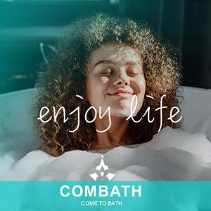 Combath Bathtub pillow logo-1