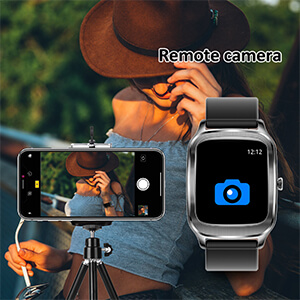 smart watch with remote camera