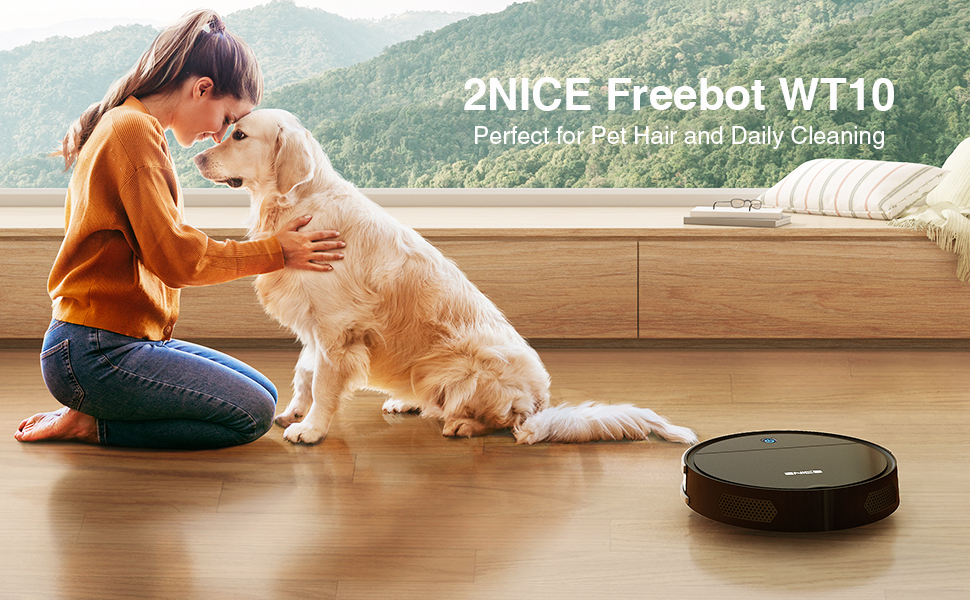 robot vacuum for pet hair