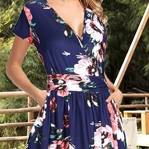 Vestito di stile casual, elegante e vintage-2