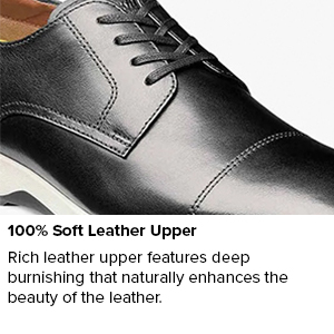 100% Soft Leather Upper