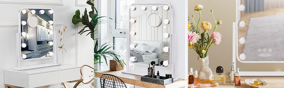 Vanity Mirror Makeup Mirror with Lights