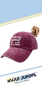 I Solemnly Swear Ponytail Hat