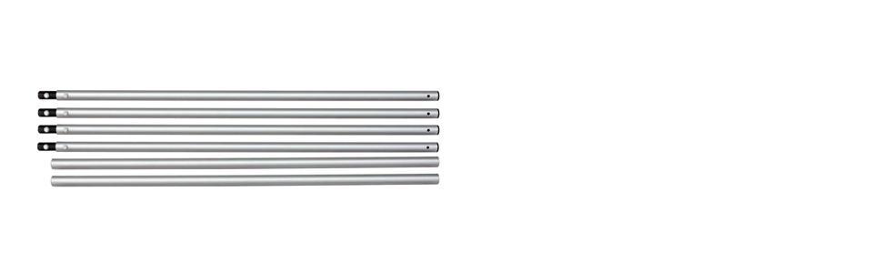 PROAIM 12ft Straight Long Aluminium Track (32mm dia)
