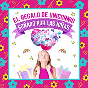 Egg Slime Kit Huevo sorpresa de slime regalo para niñas kit cumpleaños para chicas Unicornio
