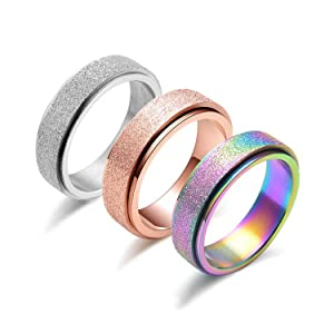 relief stress anxiety ring spinner