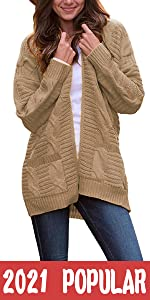 Cable Casual Cardigan