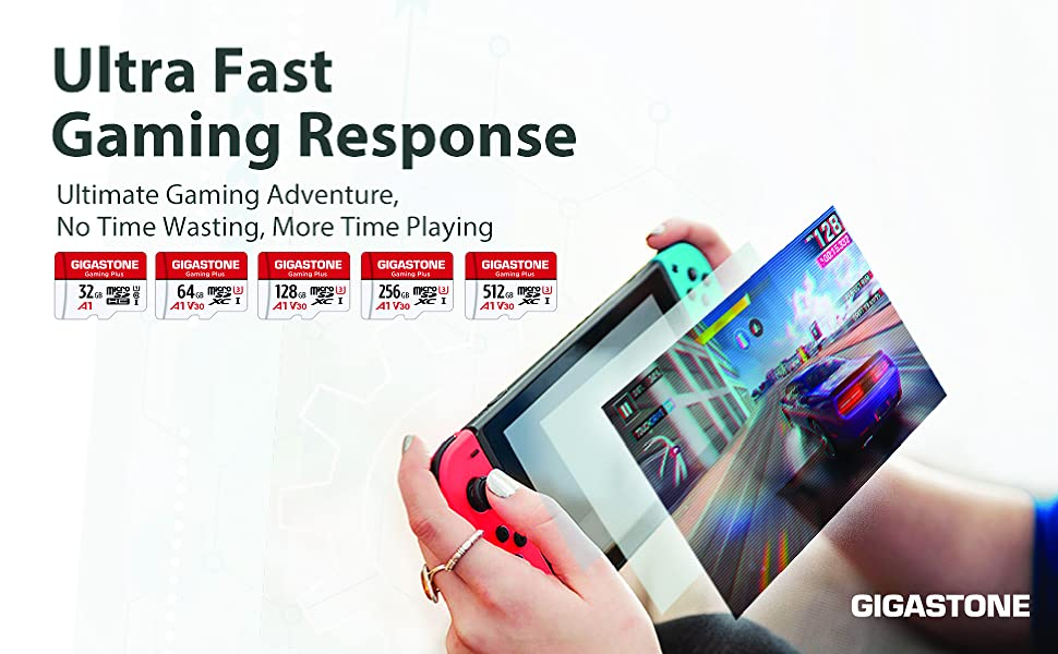 Ultra fast gaming micro sd cards