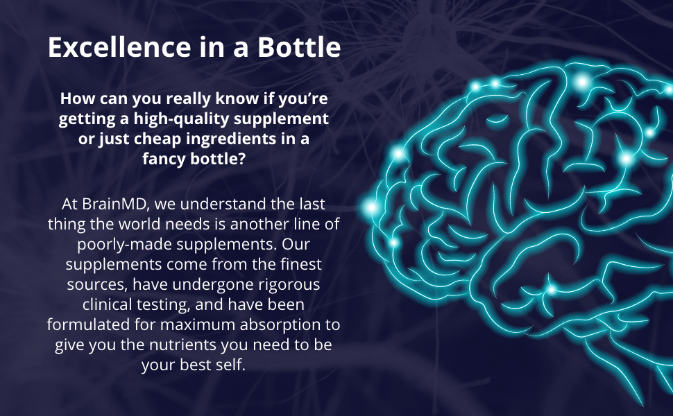 Excellence in a Bottle