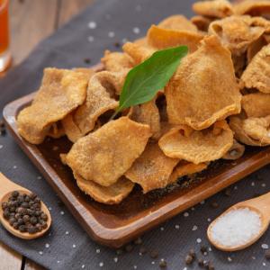 crispy chicken skins keto low carb high protein gluten free chips snacks