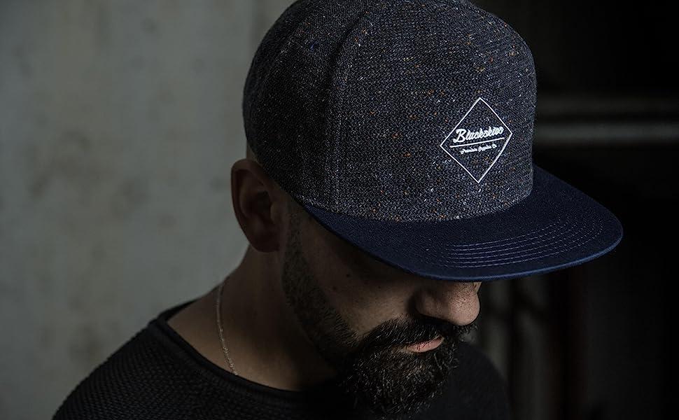 Blackskies Blue Premium Baseball Hat Gum Sport Blue Snapback Cap