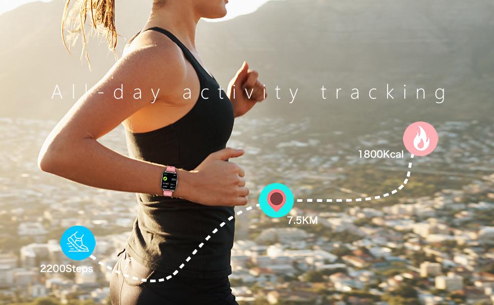 Water resistance smart watch