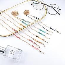 Eyeglass Chain for Women Glasses Chain face mask chains Sunglass Chain