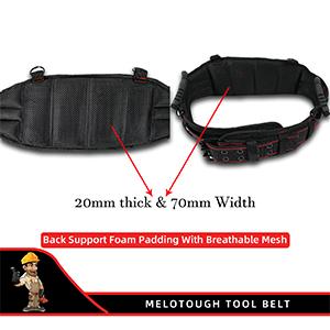 Foam padding tool belt