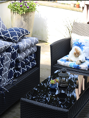 outdoor chair pads