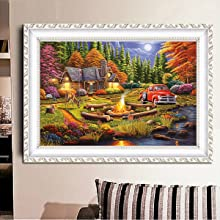 Diamond Painting Kits for Adults,Forest Scenery