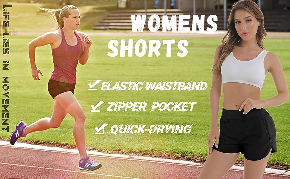 shorts for women running