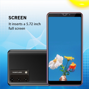Touch Screen Type : Capacitive Screen , It inserts a 5.72-inch 18:9 full screen