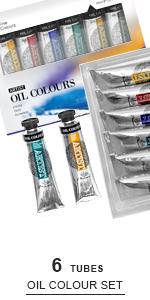 Oil Paint Set 6
