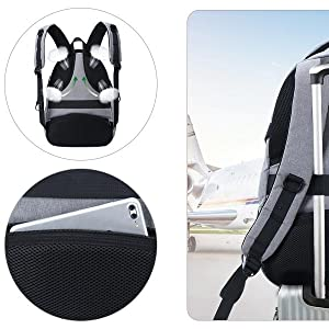 Luggage / Suitcase strap on the back