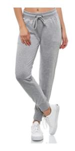Smith &Solo Jogginghose Damen – Sporthose Frauen Baumwolle Sweatpants