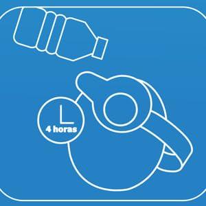 Teste para bebidas frias- Garrarfa térmica Invicta