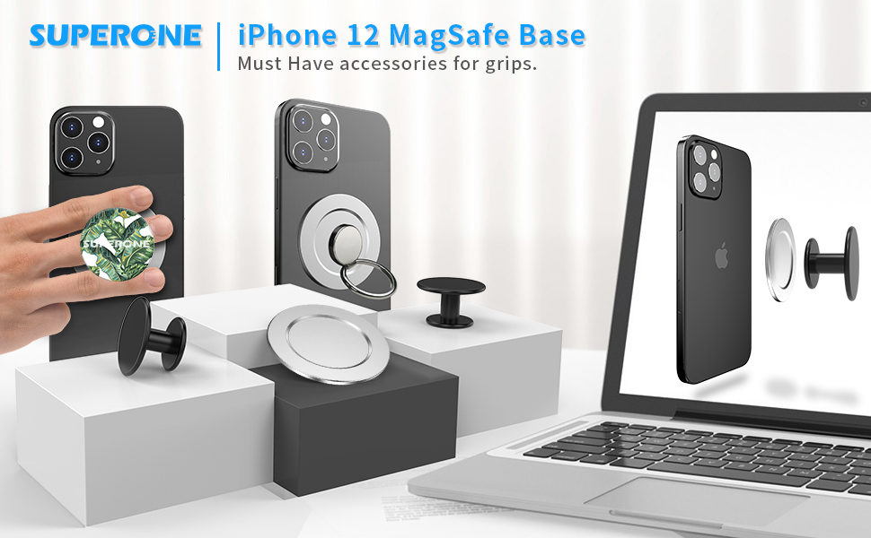Compatible with iPhone 12 Mag Safe P-Socket Base