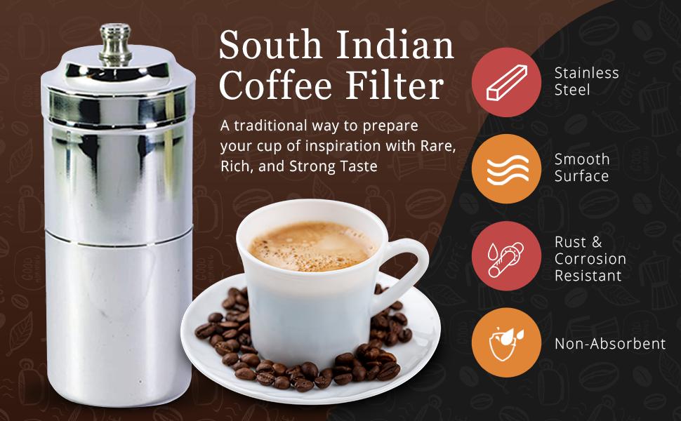 Pajaka South Indian Coffee Filter Madras Kaapi