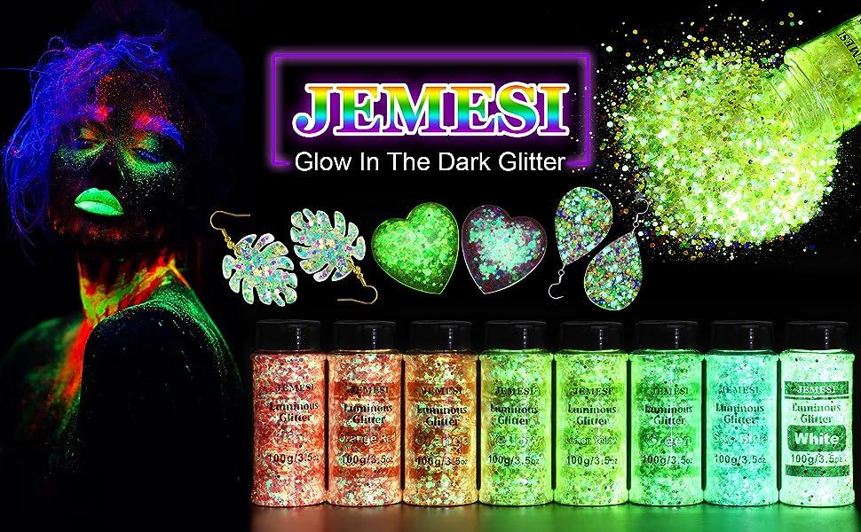 Glow in The Dark Glitter