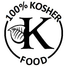 100% kosher food