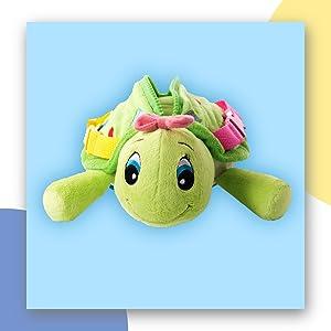 Belle Turtle Buckle Toy