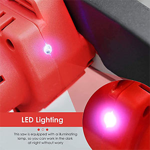LED Indicator chainsaw