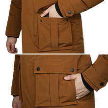 fur coat men