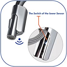 The Switch of the lower Sensor