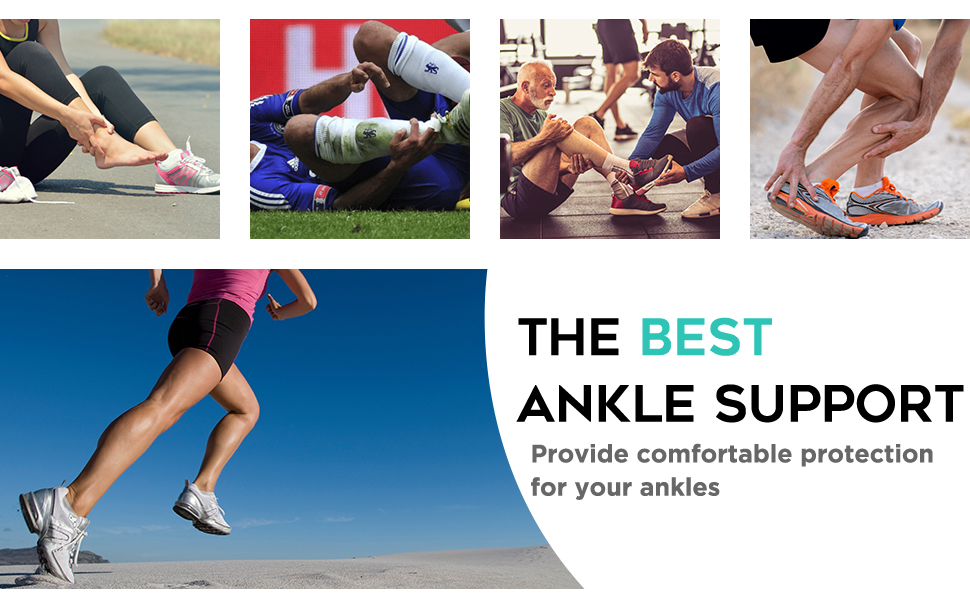 ankle brace support for sprained ankle