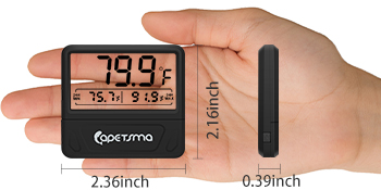 digital thermometer for fish tank