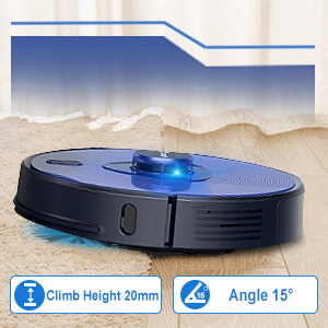 Auto-Boost Intellect Robot Vacuum Cleaner