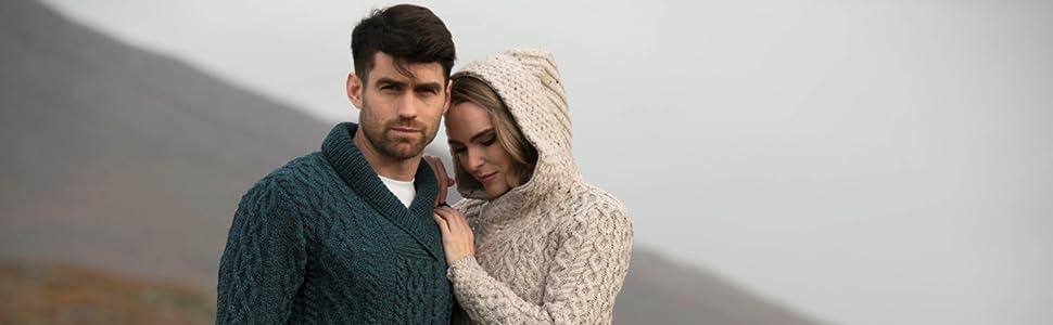Irish Knitwear for Men & Women