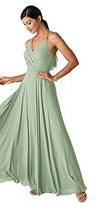 Halter Bridesmaid Dress