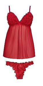 women sexy sleepwear lingerie set female short nightwear lace nightdress ladies hot babydoll nighty