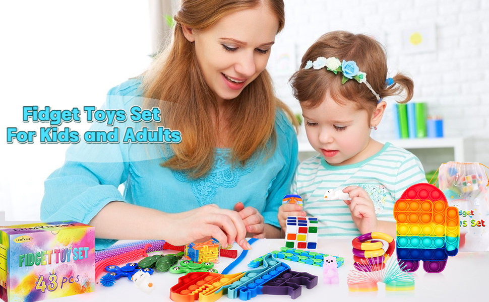 figit toys packages