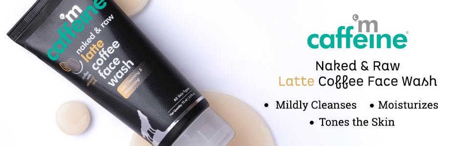 mCaffeine Naked & Raw Latte Coffee Face Wash