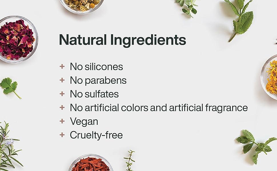 GOODamp;amp;amp;ALL Tea Tree Mint Shampoo natural silicones parabens sulfates free vegan cruelty-free