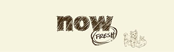 ドッグフードナウフレッシュのイメージロゴ