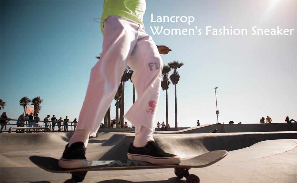 Lancrop women fashion sneaker