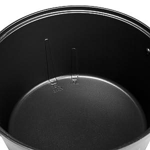 Caquelon en fonte d'aluminium de la fondue électrique Princess Premium