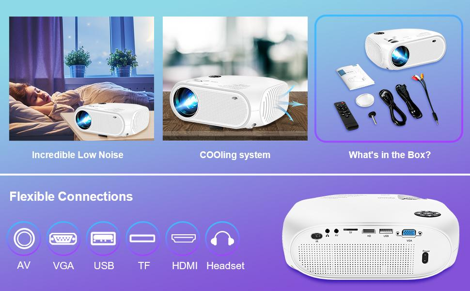 wireless portable projector