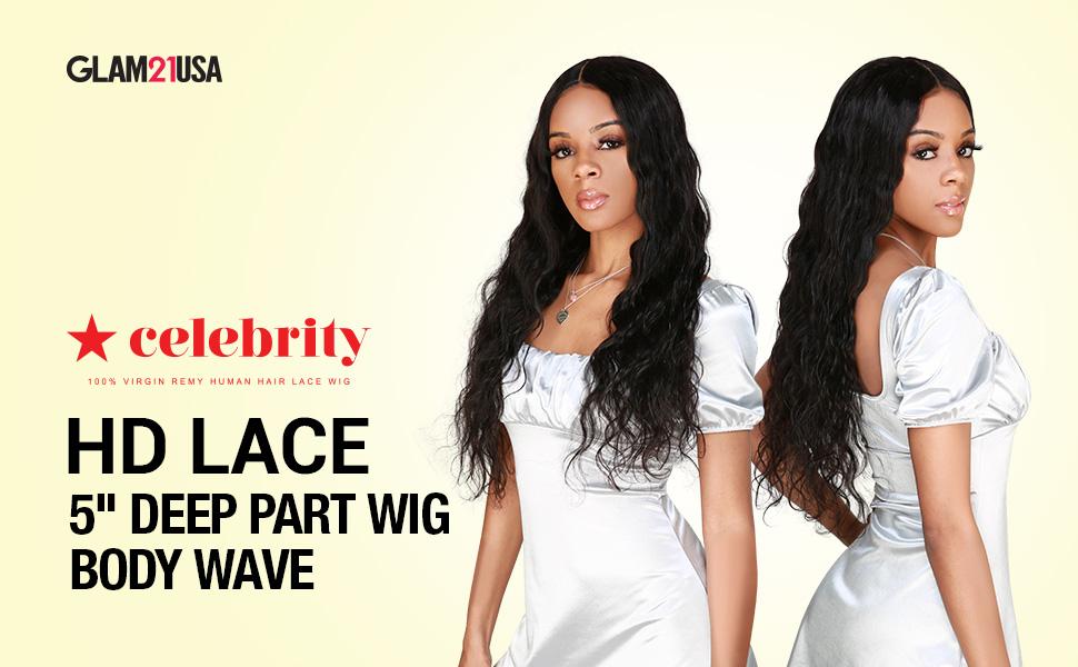 Celebrity Deep Part wig Body Wave - Logo