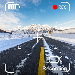 Car DVR/Dash Monitor/Vehicle Video Recorder for RV/SUV/Van/Pickup/Truck/car backup cameras system