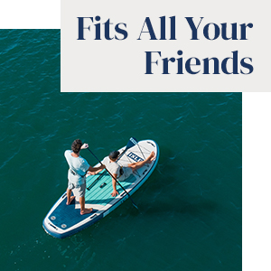 ISLE Surf & SUP Stand up paddle board fits all your friends